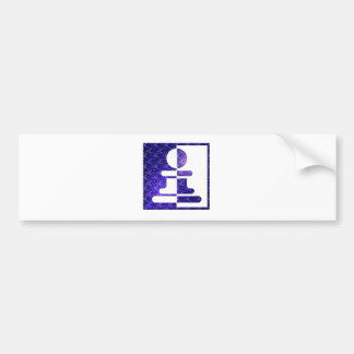 Pawn Reflections Bumper Sticker