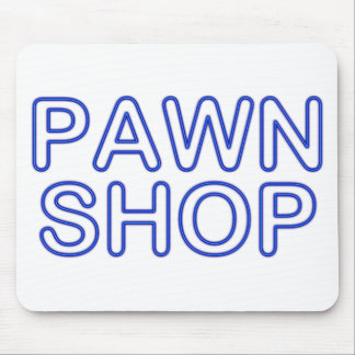 pawn shop : electric sign mouse mat