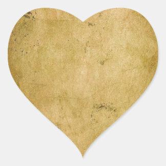 Pawn Shop;  Vintage Old School Series Heart Sticker