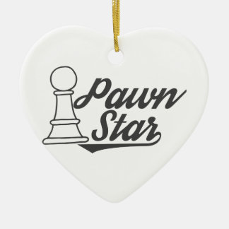 pawn star chess club christmas ornament