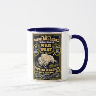 Pawnee Bill Shows Wild West Mug
