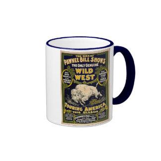 Pawnee Bill Shows Wild West Ringer Mug