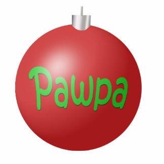 Pawpa Christmas Ornament Photo Sculpture Decoration
