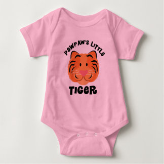 Pawpaws Little Tiger Cute Gift Baby Bodysuit