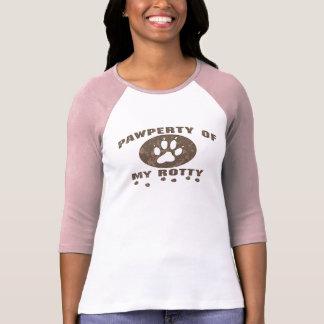 Pawperty_Rotty_zazzle2 Tshirts
