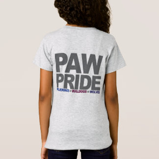 PawPride Girls T-Shirt