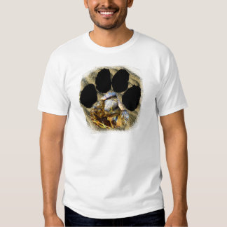 Pawprint of Africa leopard Tortoise Tshirt