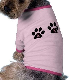 Paws 4 Hope Doggy Shirt Ringer Dog Shirt