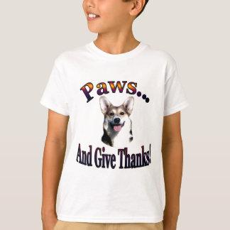 Paws and give thanks  Gimli T-Shirt
