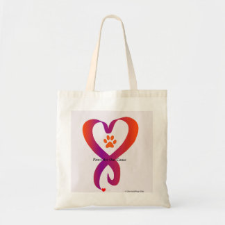 Paws Are Our Cause Budget Tote Bag