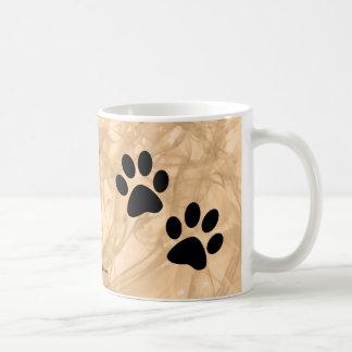 Paws Basic White Mug