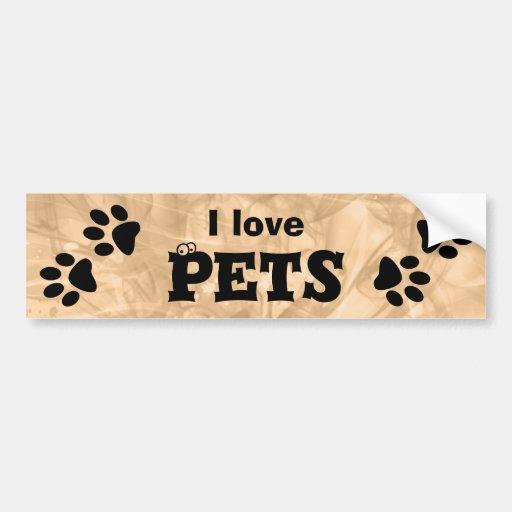 Paws Bumper Sticker