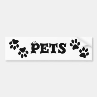 Paws Bumper Stickers