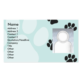 Paws - Business Pack Of Standard Business Cards