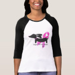Paws for a Cause | Breast Cancer | Dachshund T Shirt