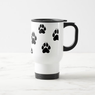Paws for a cuppa !! stainless steel travel mug