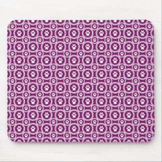 Paws-for-Business Mousepad (Plum)