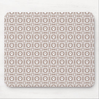 Paws-for-Business Mousepad  (Taupe)
