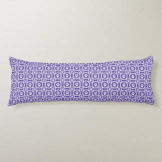 Paws-for-Comfort Body Pillow (Violet)