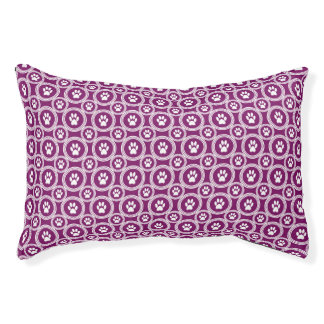 Paws-for-Comfort Pet Bed (Plum)