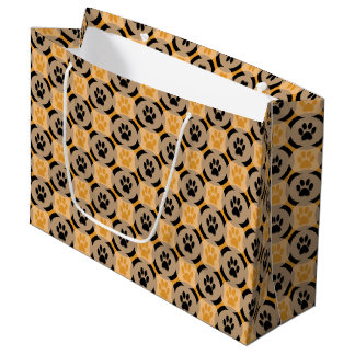 Paws-for-Giving Gift Bag (Mustard)