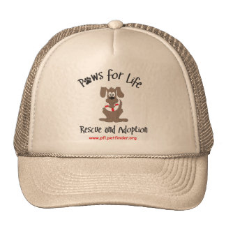 Paws for Life ball cap Trucker Hats