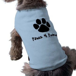 Paws For Peace Cute T Shirt
