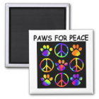 Paws for Peace Magnet