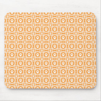 Paws-for-Style Mouse Pad (Marigold)