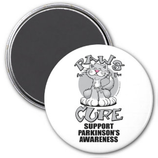 Paws for the Cure Cat Parkinson's Magnet