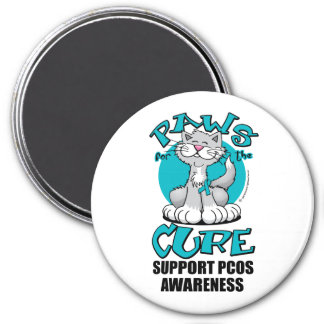 Paws for the Cure Cat PCOS Magnets