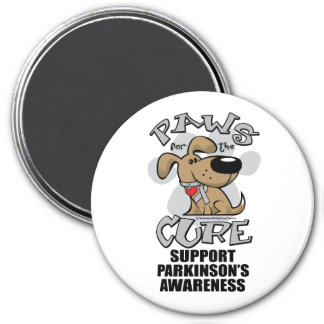 Paws for the Cure Dog Parkinson's Disease 7.5 Cm Round Magnet
