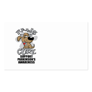 Paws for the Cure Dog Parkinson's Disease Pack Of Standard Business Cards