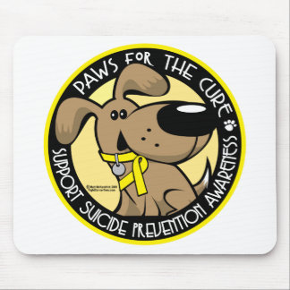 Paws for the Cure Suicide Prevention Mouse Mat