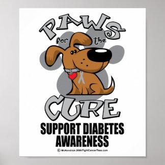 Paws for the Diabetes Dog Print