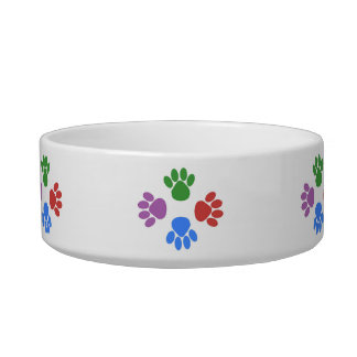 Paws Here Cat Pet Bowl