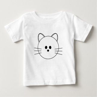 """Paws Here """"Kitty"""" Infant T-Shirt"""