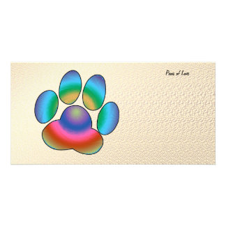Paws of Love Photo Cards