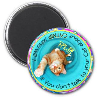 PAWS of PA CATNIP Cat magnet 2
