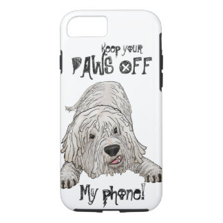 Paws Off Komondor Lover's Phone case
