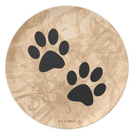 Paws Party Plates