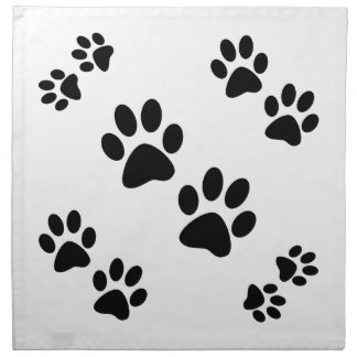 Paws Printed Napkins