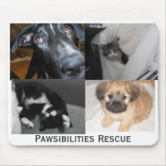 Pawsibilities Rescue mousepad
