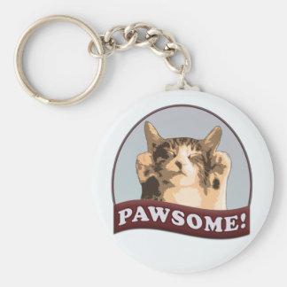 Pawsome! Key Ring