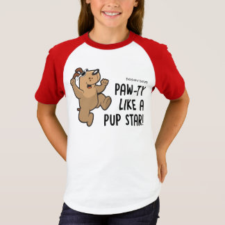 Pawty Like A Pup Star T-Shirt