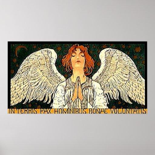 Pax Angel Print