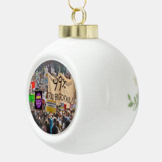 Paxspiration GDPR Activist's Ceramic Ball Ornament