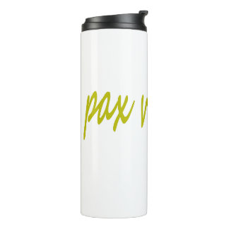 Paxspiration PAX VOBISCUM Thermal Tumbler