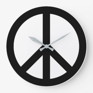 Paxspiration Peace Sign Wall Clock