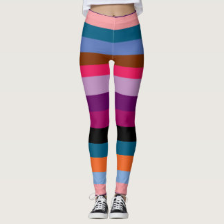 Paxspiration Peace Stripes Leggings